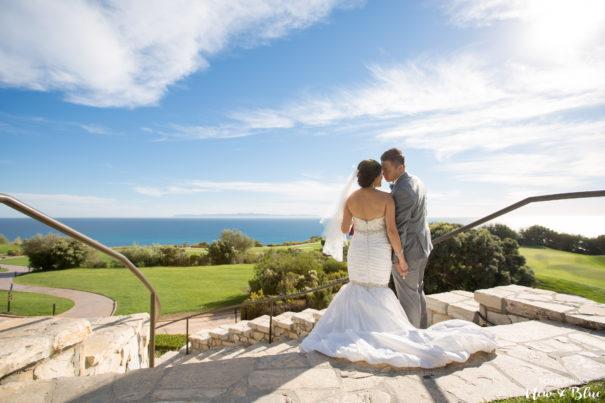 Outdoor Wedding Couple Romantics Orange County Wedding Photographers - Something New and Blue Photography