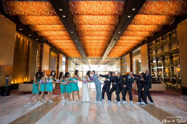 Fun Bridal Party Wedding Photography | Something New and Blue Photography