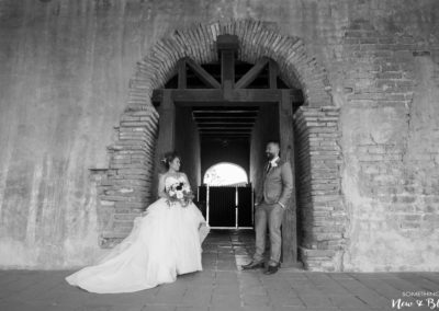 Serra Plaza San Juan Capistrano Mission Wedding | Ashley + Phi