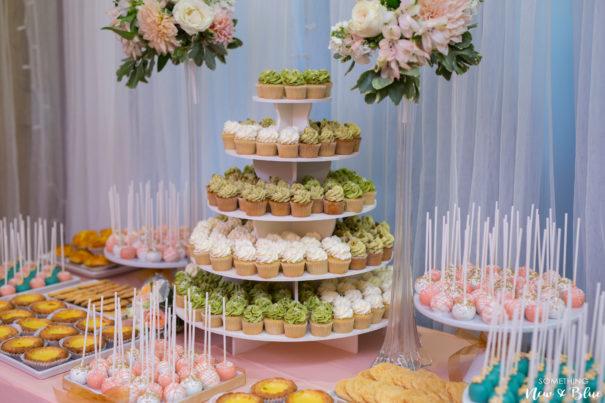 Wedding Reception Details Orange County - Something New and Blue Photography