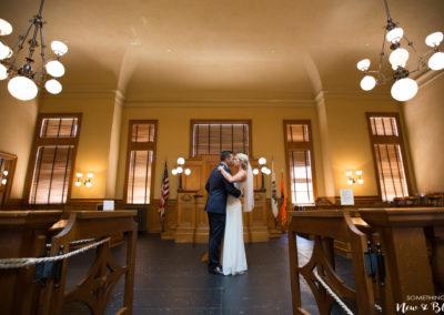 Old Orange County Courthouse Wedding