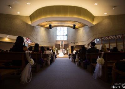 St. Martin de Porres Church Wedding