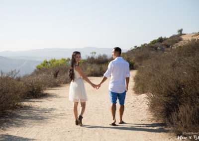 Laguna Beach Top of the Rock Engagement