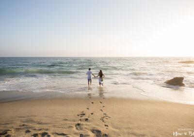 Laguna Beach Victoria Beach Engagement