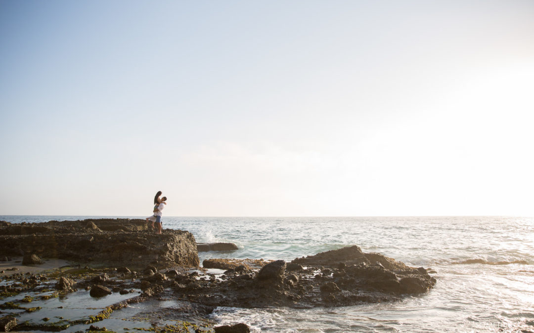 Top of the World Victoria Laguna Beach Engagement | Jodi + Daniel