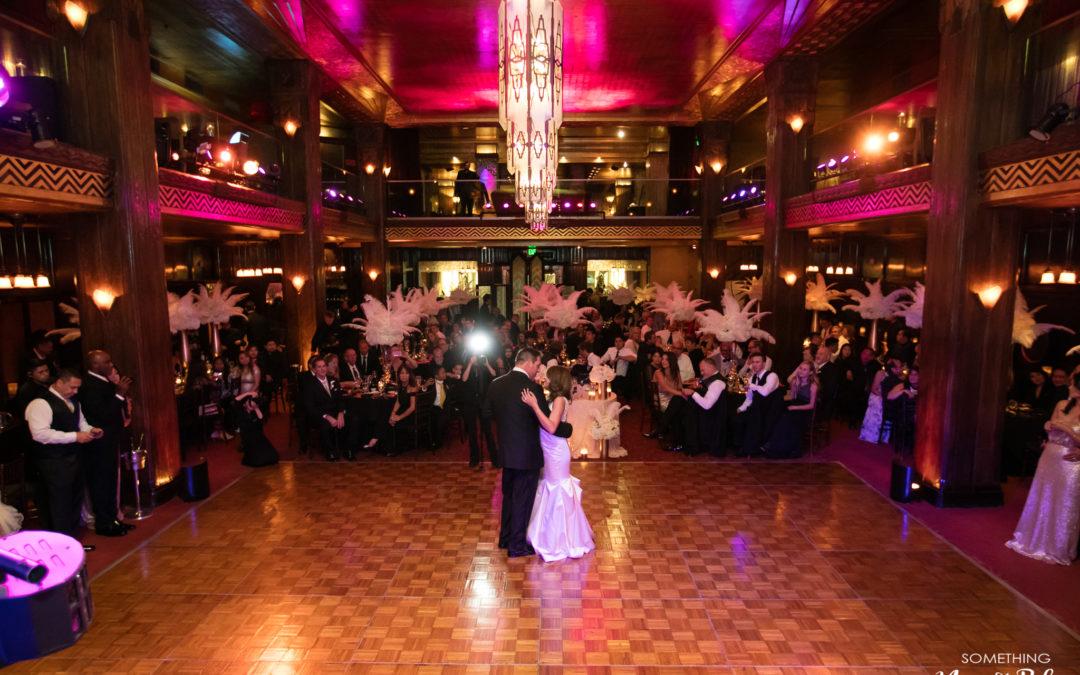 Biltmore Hotel Cicada Restaurant Wedding Los Angeles | Kandice + Marcus