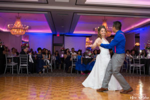 Wedding-Reception-Bride-and-Groom-Dancing | Something New and Blue