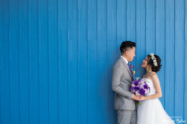 Outdoor Wedding Couples Romantics Orange County Wedding Photographers - Something New and Blue Photography