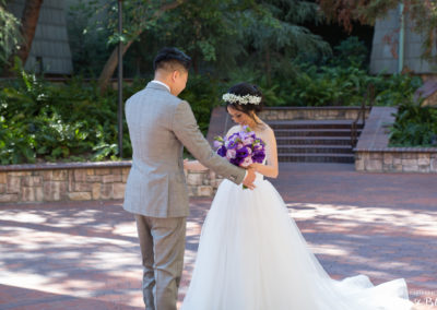 Happiest Place on Earth Wedding | Kim + Thaison