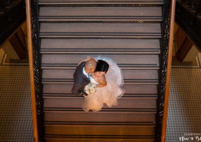 Orange County Courthouse Bower Museum Wedding | Monica + Louie