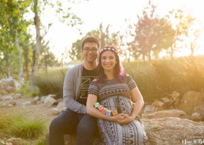 Irvine Maternity Session | Pam + Garret