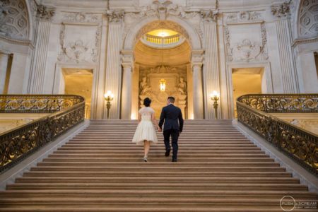 San Francisco City Hall Wedding | Anh + Dennis