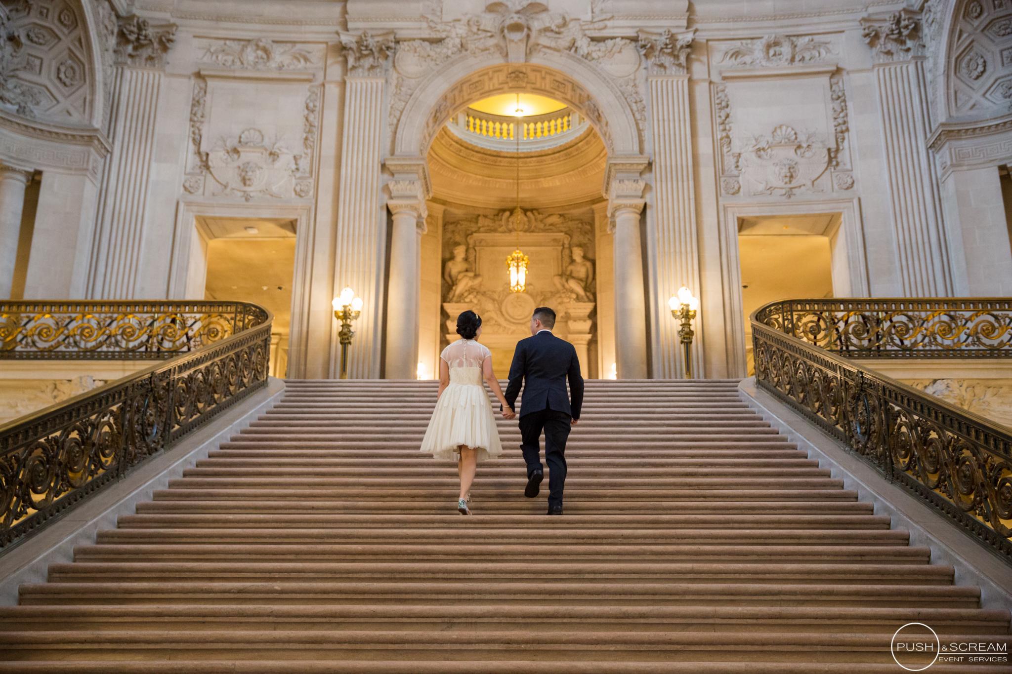 San Francisco City Hall Wedding | Anh + Dennis