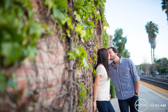 Los Rios District Engagement Photography | Nicole + Kevin