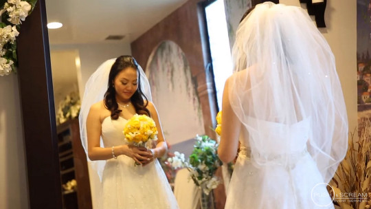 Holy Spirit Catholic Church Wedding Seafood Palace | Ami + Phillip