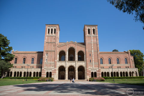 UCLA Royce Hall Proposal Engagement | Jenny + Jerry