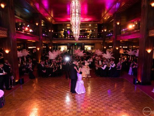Biltmore Hotel Cicada Restaurant Los Angeles Wedding | Kandice + Marcus