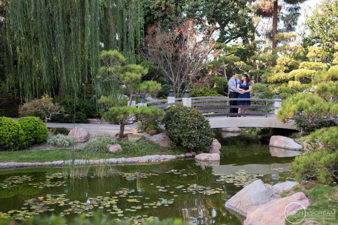 Earl Burns Miller Japanese Garden Engagement