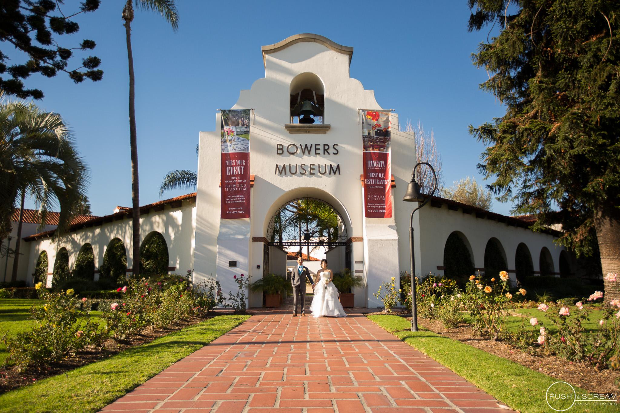 Orange County Courthouse Bowers Museum Wedding Monica