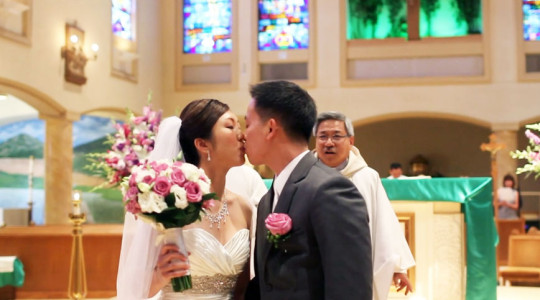 Queen of All Saints Wedding Videography | Shirley + Tuong